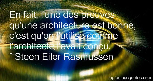 Quotes About Architecte