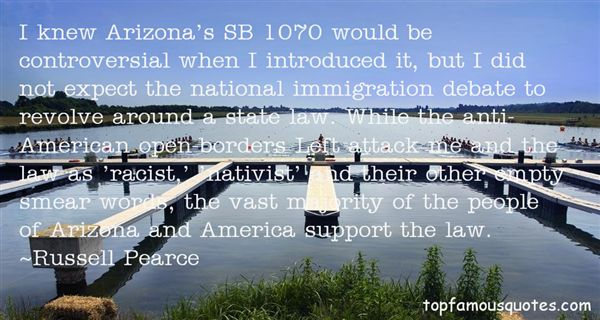 Quotes About Arizona Immigration Law