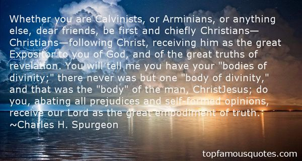 Quotes About Arminian