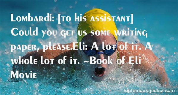 Quotes About Assistant