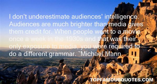 Quotes About Audiences