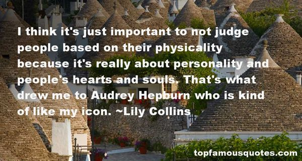 Quotes About Audrey Hepburn