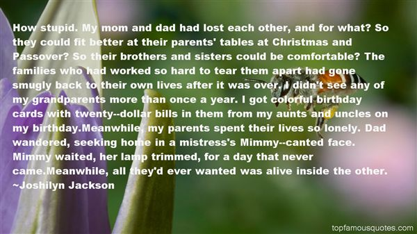 Quotes About Aunts And Uncles