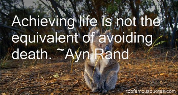 Quotes About Avoiding