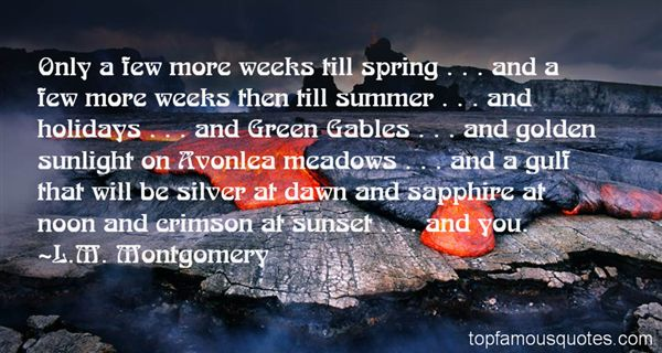 Quotes About Avonlea