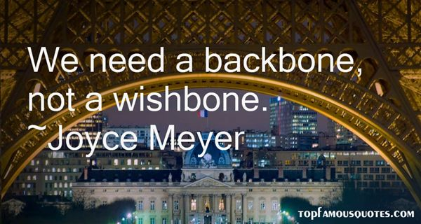 Quotes About Backbone