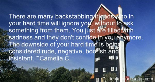 Backstabbing Friends Quotes: best 1 famous quotes about ...