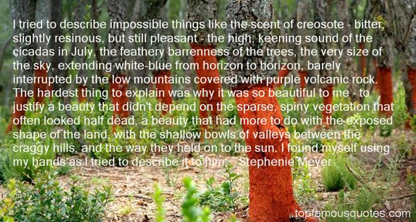 Quotes About Barren Land