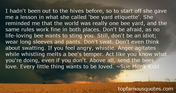 Quotes About Bee Hives