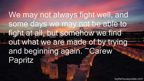 Quotes About Beginning Again