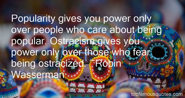 Quotes About Being Ostracized