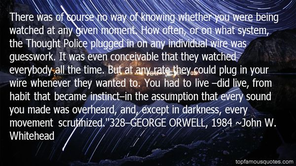 Quotes About Being Watched Over