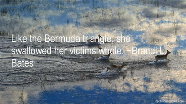 Quotes About Bermuda Triangle