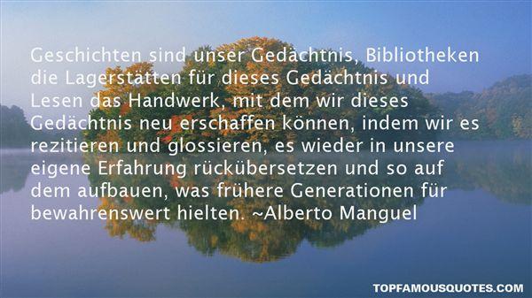 Quotes About Bibliotheken