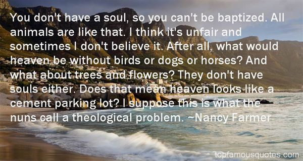 Quotes About Bird Dogs
