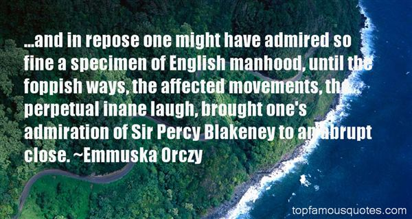 Quotes About Blakeney