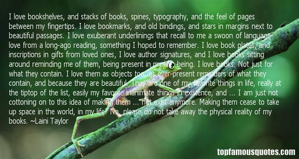 Quotes About Bookmark Love