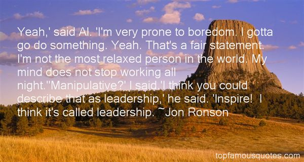 Quotes About Boredom At Work