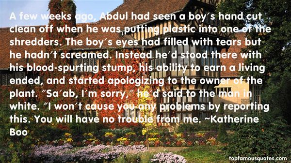 Quotes About Boy Problems