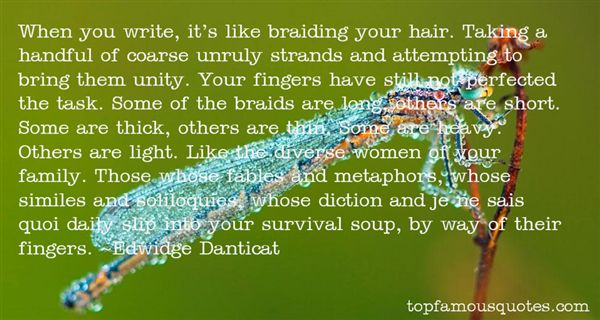 Quotes About Braids