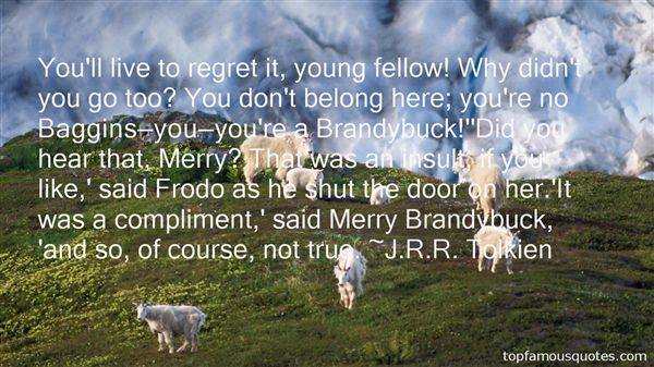 Quotes About Brandybuck