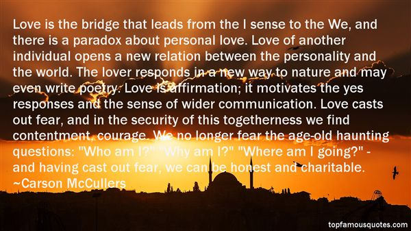 Quotes About Bridge Of Love