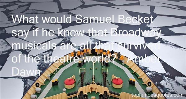 Quotes About Broadway Musicals