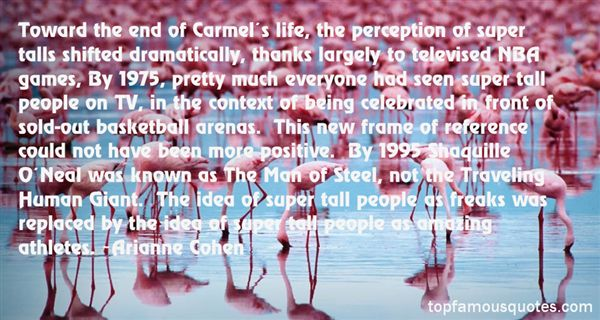 Quotes About Carmel
