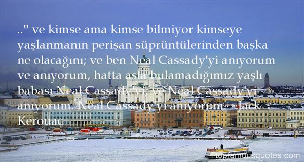 Quotes About Cassady