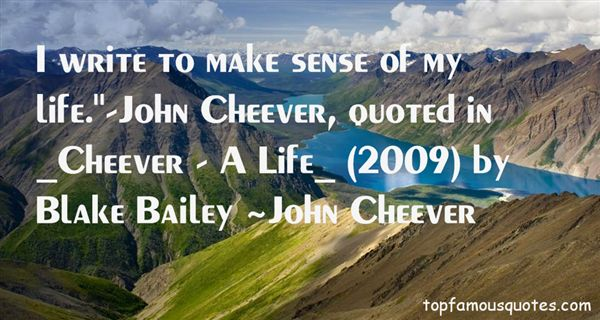 Quotes About Cheever