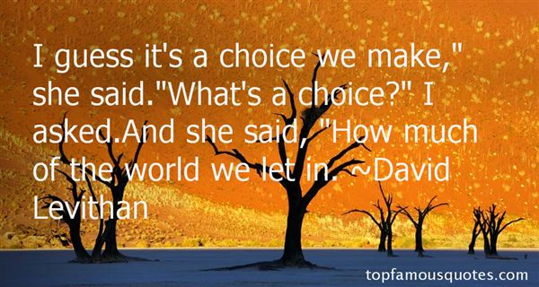 Quotes About Choice We Make