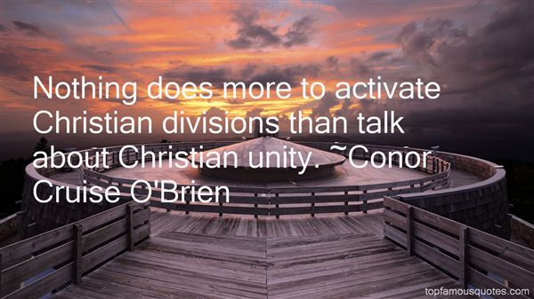 Quotes About Christian Division