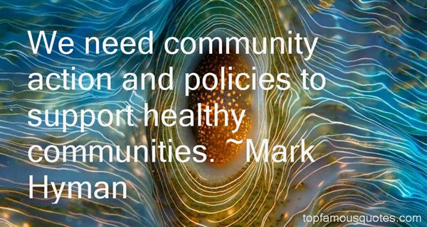 Quotes About Community Health