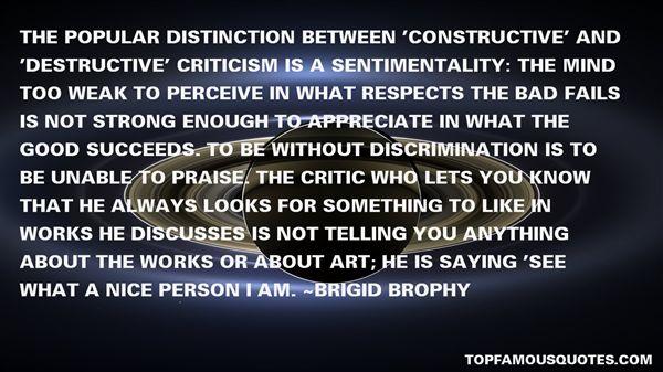 Quotes About Constructive Criticism