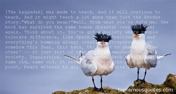 Quotes About Convivencia