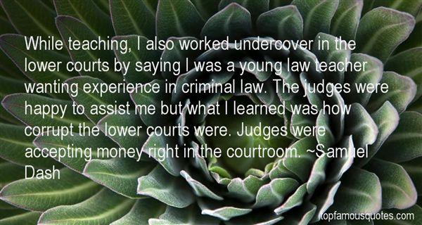 Quotes About Court Judges