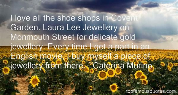 Quotes About Covent Garden