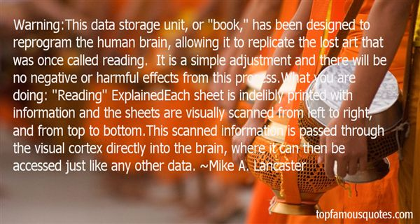 Quotes About Data Storage