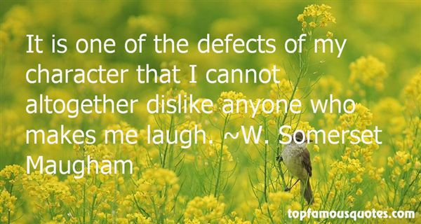 Quotes About Defects Of Character