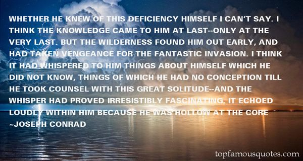 Quotes About Deficiency