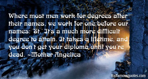 Quotes About Degrees