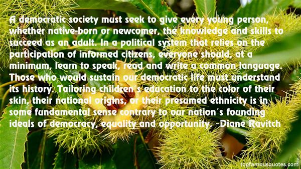 Quotes About Democratic Ideals