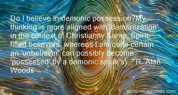 Quotes About Demonic Possession