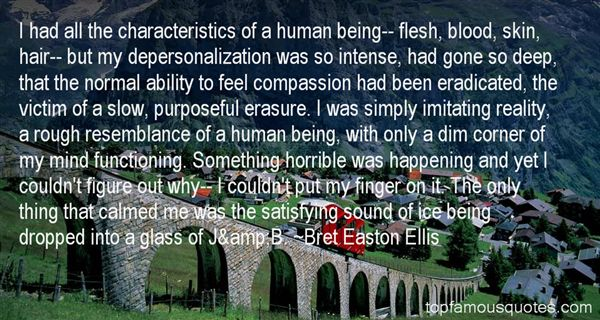 Quotes About Depersonalization