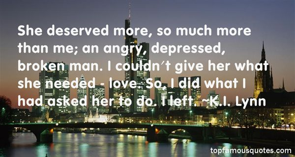 Quotes About Depressed Love