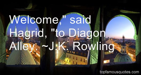 Quotes About Diagon Alley