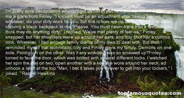 Quotes About Dirty Work