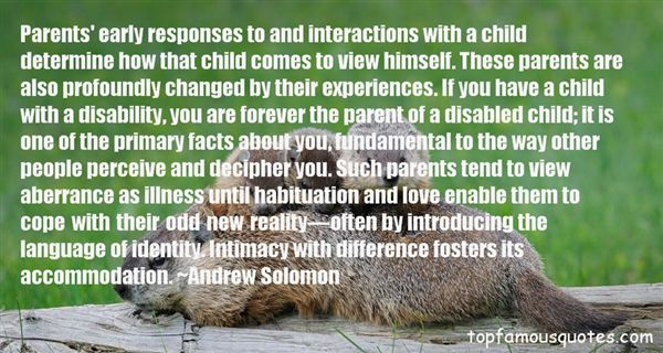 Quotes About Disabled Parents