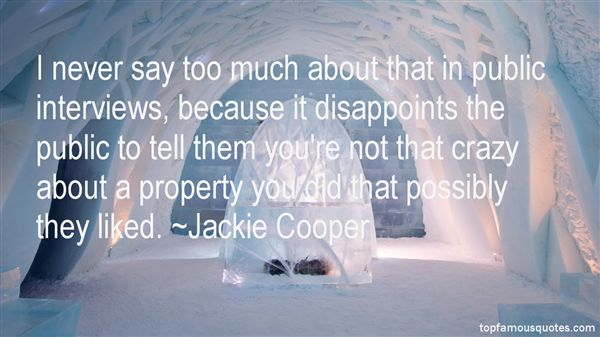 Quotes About Disappoint