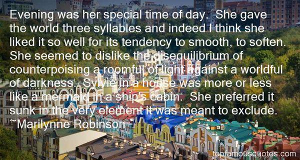 Quotes About Disequilibrium
